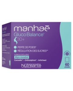 Nutrisanté Manhaé Gluco Balance 30+ x60 sachets