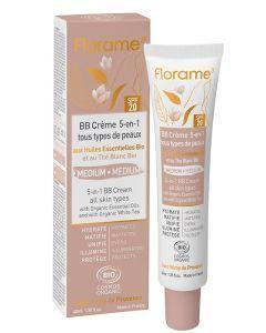 Florame BB Crème Bio 5-en-1 teinte medium 40ml