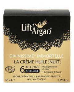 Lift Argan La Crème Huile Nuit Divinissime Immortelle 50ml