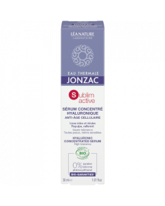 Jonzac Sublimactive Sérum Concentré Hyaluronique 30ml