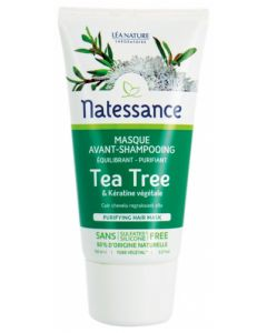 Natessance Masque Avant-Shampooing Tea Tree 150ml