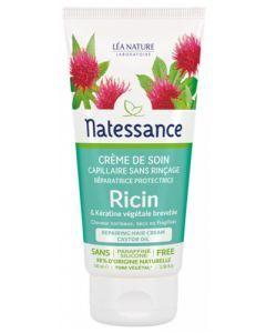 Natessance Crème de Soin Capillaire Ricin sans Rinçage 100ml