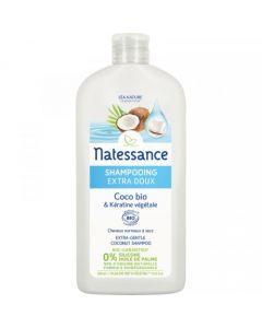 Natessance Shampooing Extra Doux Coco Bio 500ml