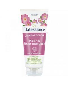 Natessance Crème de Douche Plaisir de Rose Musquée 200 ml