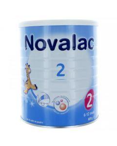 Novalac 2 Lait en Poudre 6-12mois 800g