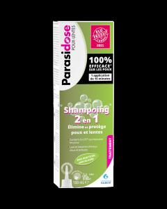 Parasidose Poux-Lentes Shampoing 2 en 1 100ml