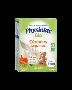 Physiolac Bio Céréales Légumes 200g