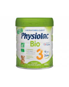 Physiolac Bio 3 800g