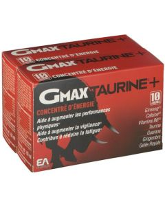 EAFIT Gmax Taurine Duo Ampoules