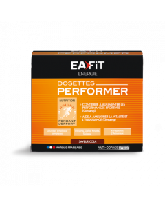Eafit Dosette Performer Cola - Pack 10 dosettes