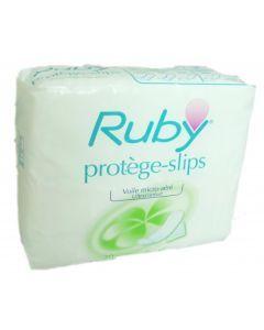 Ruby Protège-slips Adhésive Pochette Individuelle 30 Protège-slips
