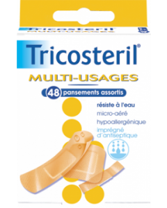 Tricosteril Multi-usages 48 Pansements