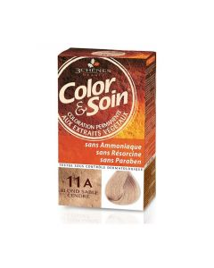 3 Chênes Color & Soin Coloration 11a Blond Sable Cendré 135ml
