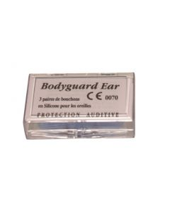 Bodyguard Ear Bouchons d'Oreilles x3 paires