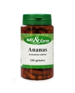 Nat&Form Ananas Papaye 120 Gélules