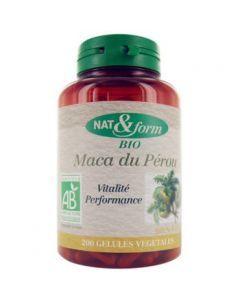 Nat&Form Maca du Pérou Bio 200 Gélules