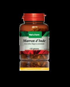 Nat&form Marron d'Inde 120 Gélules