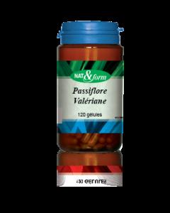 Nat&form Passiflore Valériane 120 Gélules