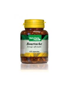 Nat&Form Huile Bourrache + Vitimanine E 100 Capsules