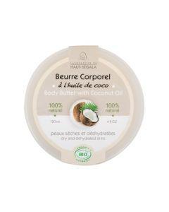 Haut-Ségala Beurre Corporel à l'Huile de Coco Bio 120ml
