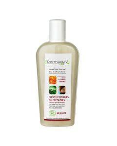 Dermaclay Bio Capilargil shampoing Traitant Cheveux Colorés et Décolorés 250ml