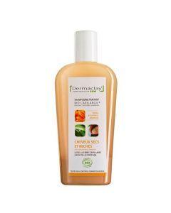 Dermaclay Bio Capilargil shampoing Cheveux Secs et Rèches 250ml