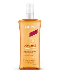 Noreva Bergasol Expert SPF 50 Huile Solaire Satinée Spray 150ml