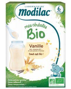 Modilac Céréales Bio Vanille dès 6 mois 250g