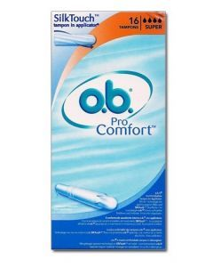 O.b Pro Comfort Super Avec Applicateur 16 Tampons