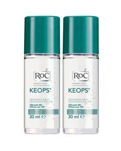 Roc Keops Déodorant Bille 30ml X2