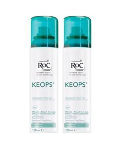 Roc Keops Déodorant Sec Spray 2x150ml