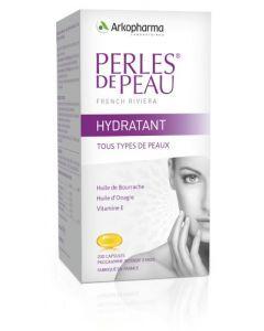 Arkopharma Perles de Peau Hydratant Huile Bourrache et Onagre 200 capsules