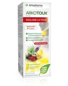 Arkopharma Arkotoux Soulage la Toux Miel Extrait de Thym Agave Sirop 140 ml