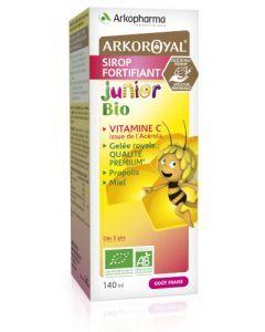 Arkopharma Arkoroyal Fortifiant Bio Junior Gelée Royale Propolis Sirop 140ml