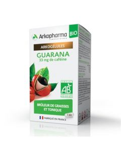 Arkopharma Arkogélules Bio Guarana 130 gélules