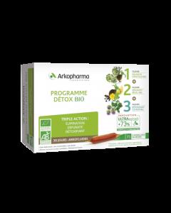 Arkopharma Arkofluides Programme Détox Triple Action Bio 30 Ampoules