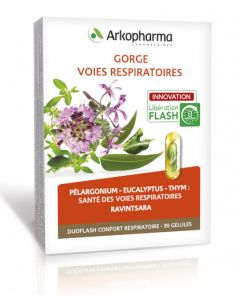Arkopharma Duoflash Confort Respiratoire 30 gélules