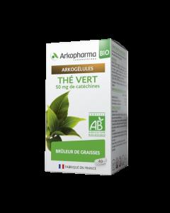 Arkopharma Arkogélules Bio Thé Vert 40 gélules