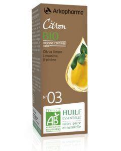 Arkopharma Huile Essentielle de Citron Bio 10ml