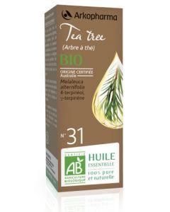 Arkopharma Huile Essentielle de Tea Tree (Arbre à Thé) Bio 10ml