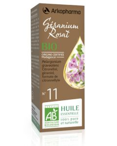 Arkopharma Huile Essentielle de Géranium Rosat Bio 5ml