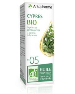 Arkopharma Huile Essentielle de Cyprès Bio 10ml