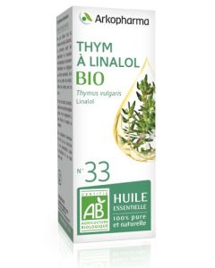 Arkopharma Huile Essentielle de Thym à Linalol Bio 5ml