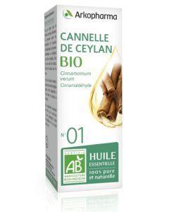 Arkopharma Huile Essentielle de Cannelle de Ceylan Bio 5ml