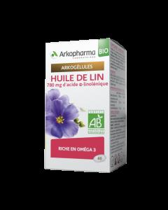 Arkopharma Arkogélules Bio Huile de Lin 60 gélules