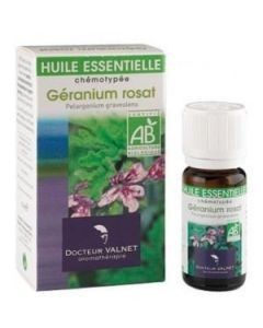 Dr Valnet Huile Essentielle Géranium Rosat Bio 10ml