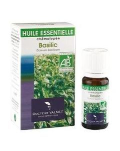 Dr Valnet Huile Essentielle Basilic Bio 10ml