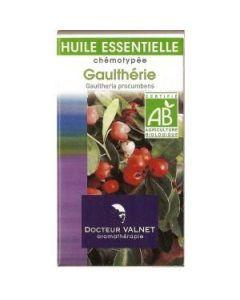 Dr Valnet Huile Essentielle Gaulthérie Bio 10ml