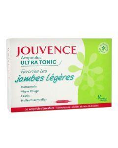 Jouvence Ultra Tonic Jambes Légères 20 Ampoules