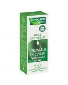Phytosun Arôms Citronnelle de Ceylan 10ml